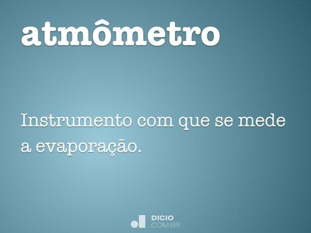 atmômetro