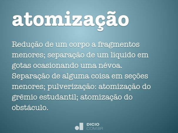 atomiza��o