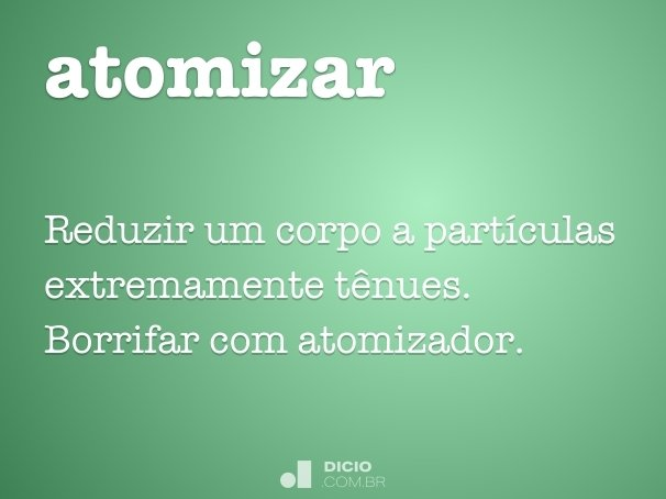 atomizar