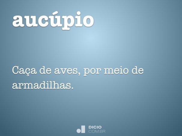 aucúpio
