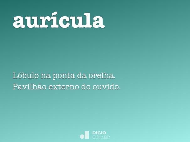 aur�cula