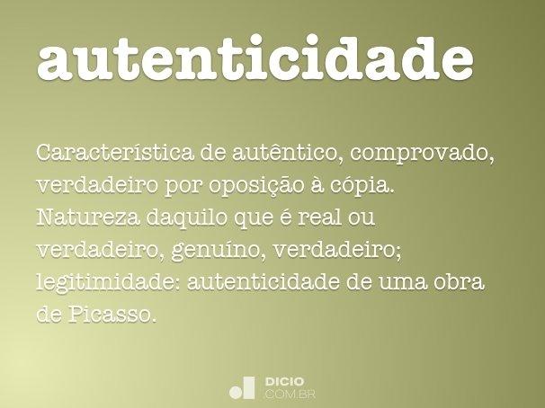 autenticidade