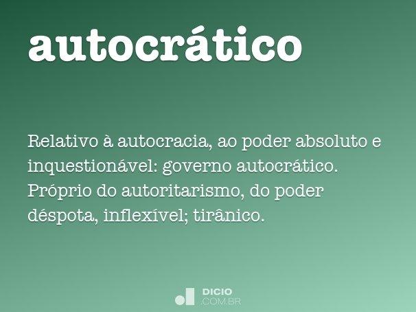 autocr�tico
