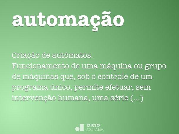 automa��o