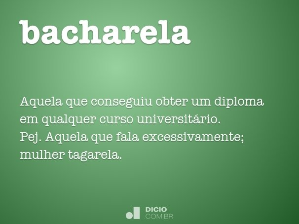 bacharela