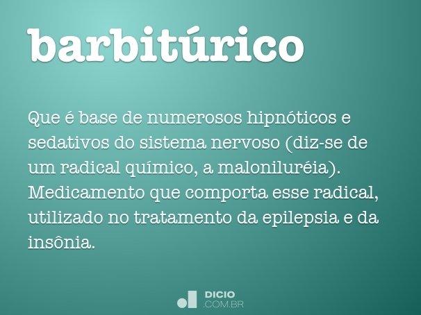 barbit�rico