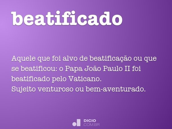 beatificado