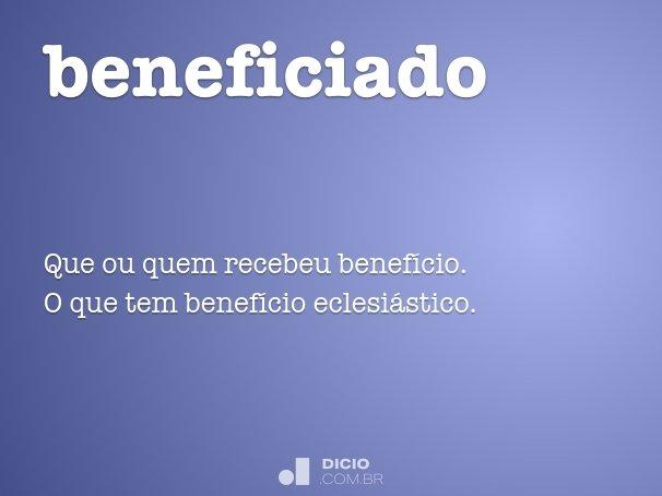 beneficiado