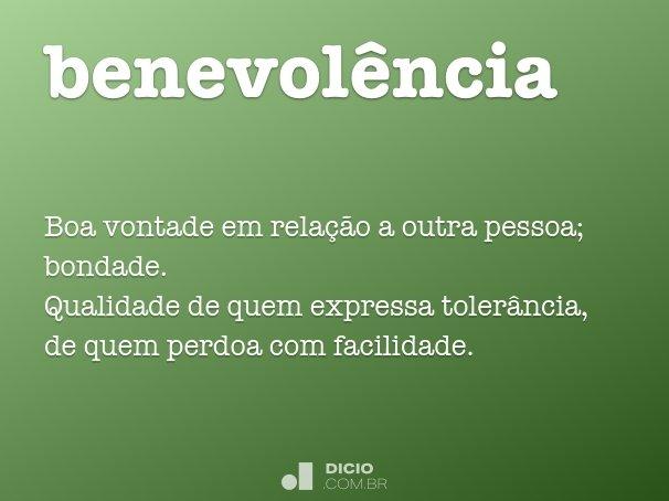 benevol�ncia