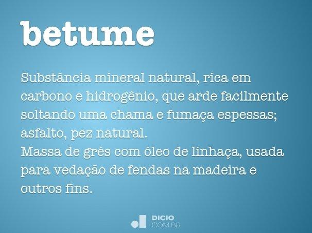betume