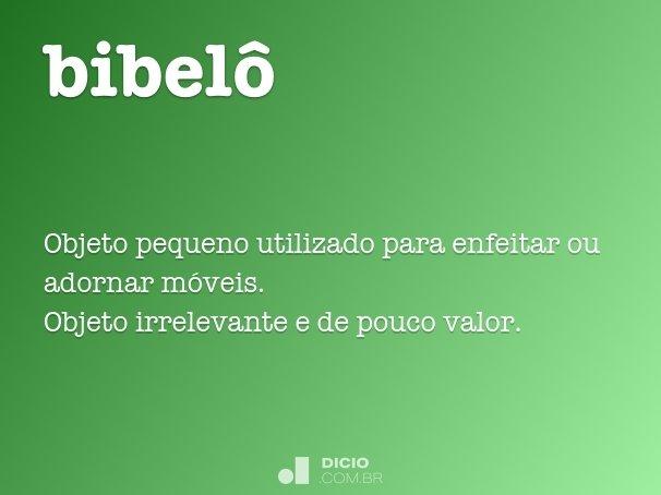 bibelô