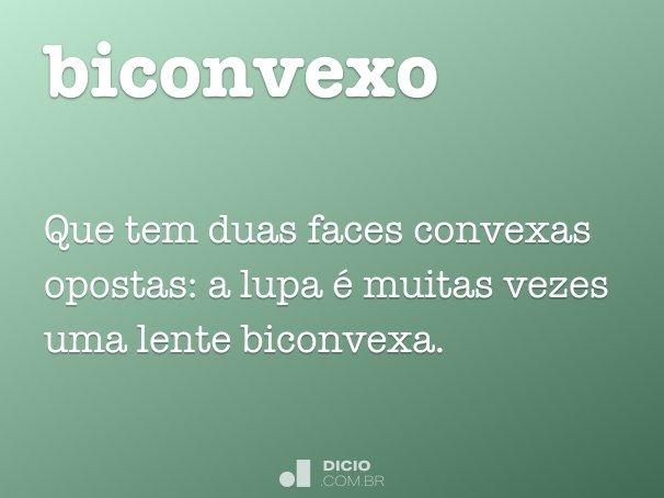 biconvexo