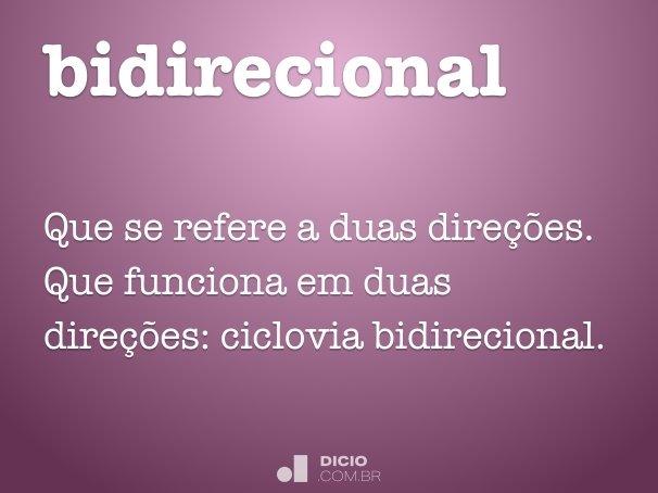 bidirecional