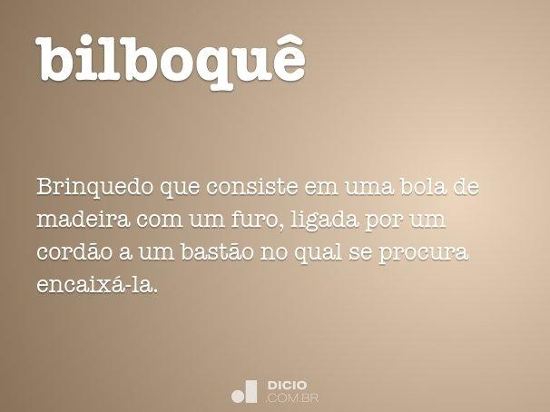 bilboqu�
