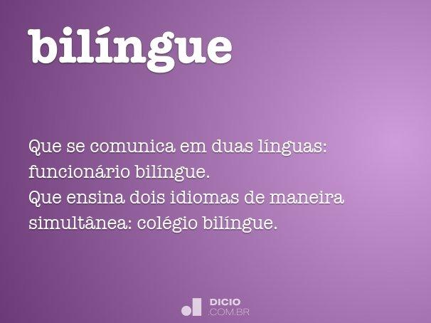 bil�ngue