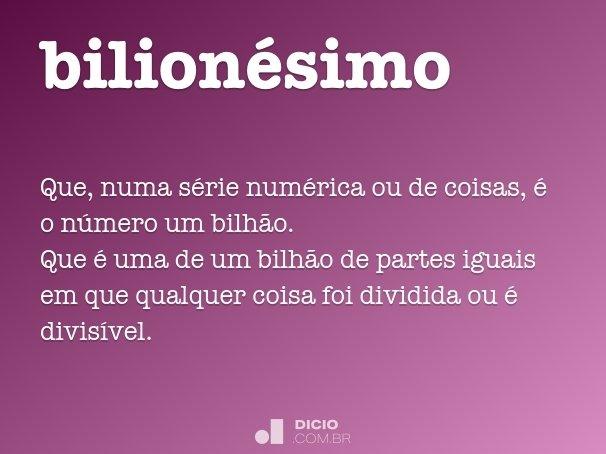 bilion�simo