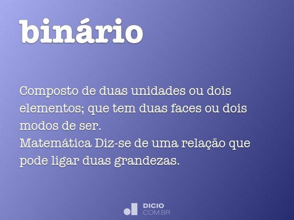 bin�rio