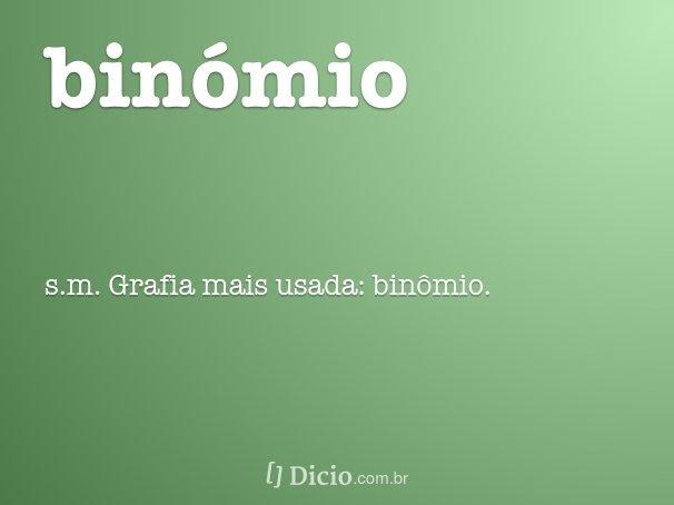 bin�mio
