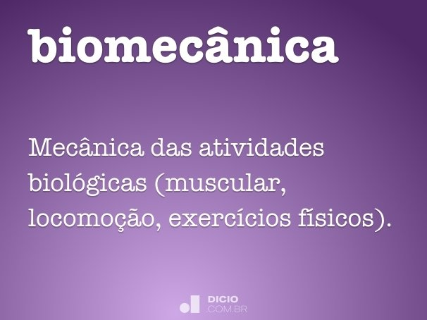 biomec�nica