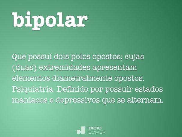 Resultado de imagem para bipolar