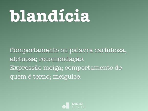 bland�cia