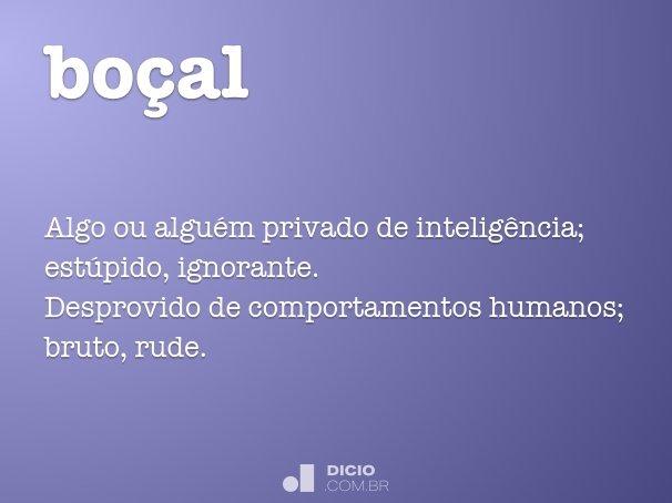 bo�al