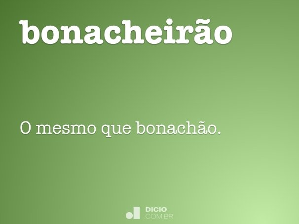 bonacheirão