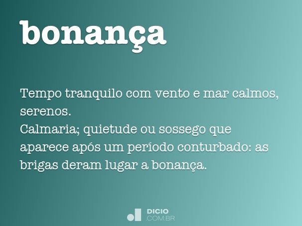 bonan�a
