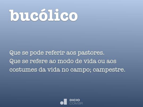 buc�lico