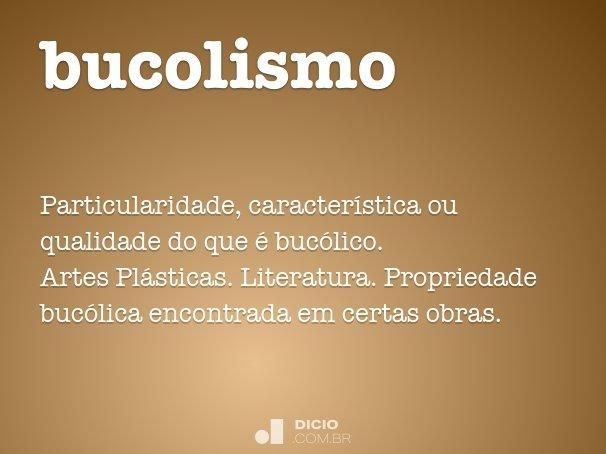 bucolismo