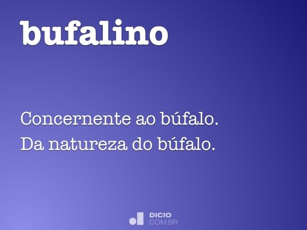 bufalino