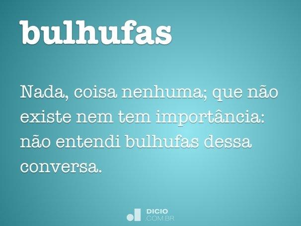 bulhufas