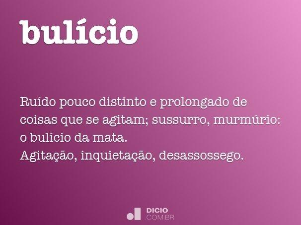 bul�cio