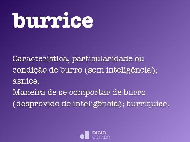 burrice