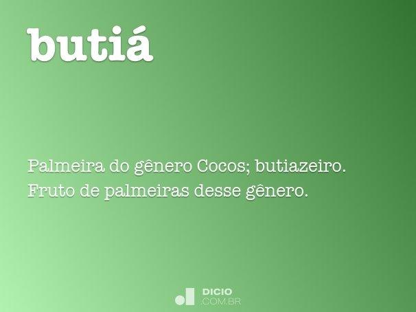 butiá