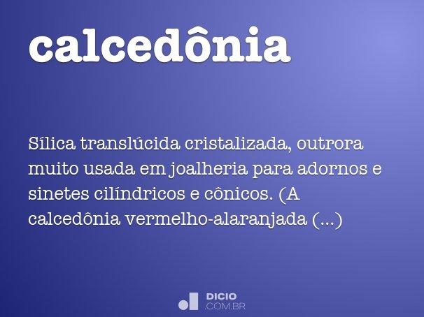 calcedônia
