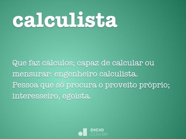 calculista