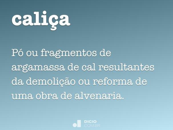 cali�a