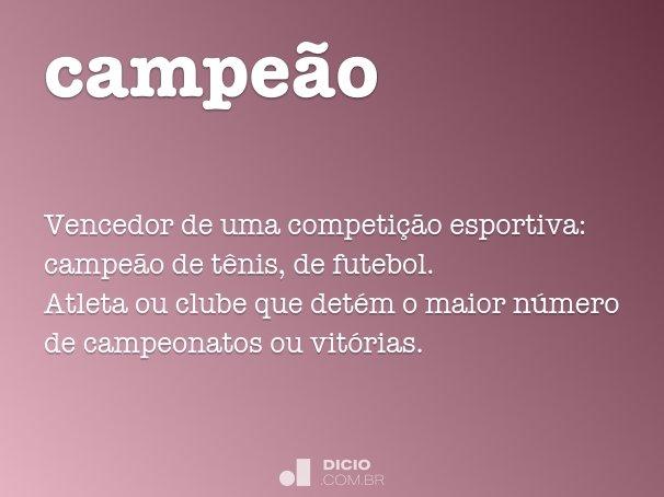 campe�o
