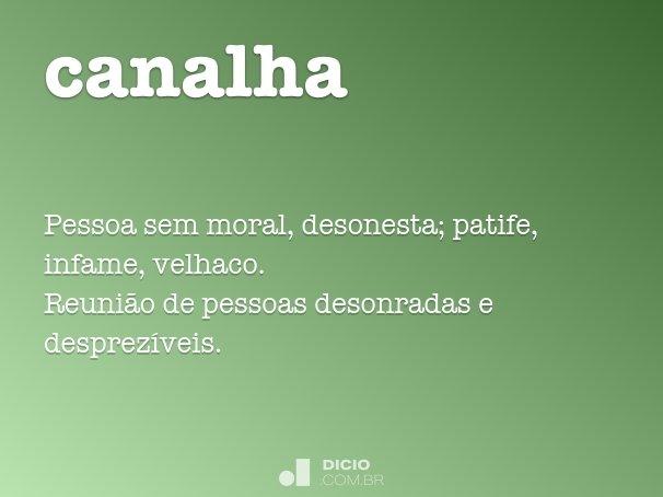 canalha