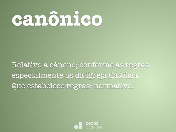 can�nico