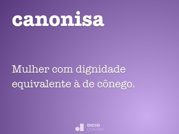canonisa