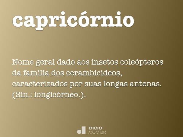 Artesanato Em Mdf Para Cozinha ~ Capricórnio Dicio, Dicionário Online de Portugu u00eas