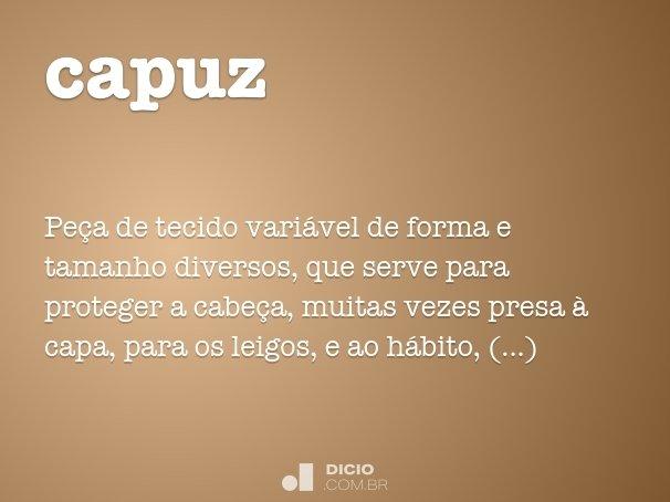 capuz