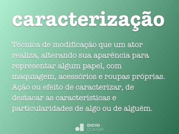 caracteriza��o
