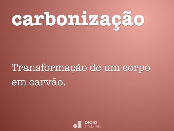 carboniza��o