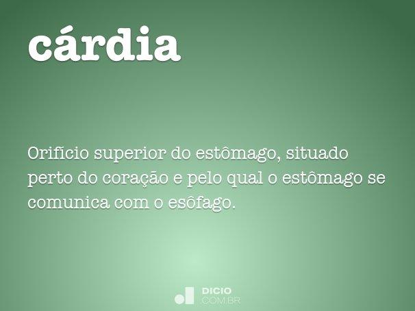 cárdia