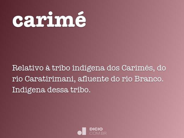 Carim dicion rio online de portugu s for Canape plural