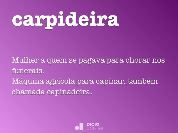 carpideira