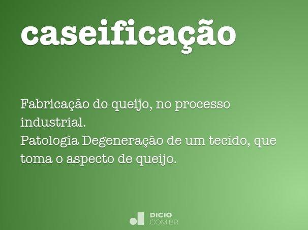 caseificação